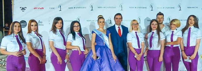 Miss universe albania 2018